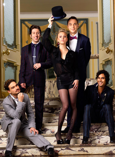 The Big Bang Theory Cast Elenco