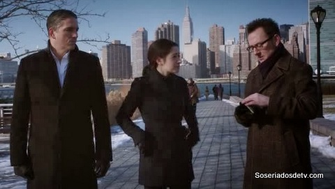 Person of Interest Last Call 3x14 s03e14 Reese Shaw Harold