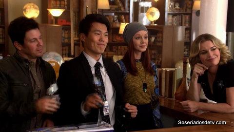 The Librarians 2x09 s02e09 Jake Zekie Cassandra Eve