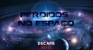 Escape Hotel em São Paulo inaugura sala Perdidos no Espaço