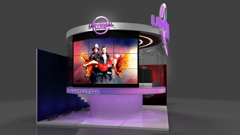 Canal Universal leva glass studio e ação de Lucifer à CCXP17